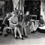 Luciano Capponi nella trasmissione televisiva Chitarra Club RaiUno, 1966-1970