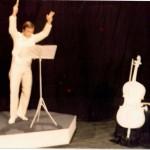 Luciano Capponi nella trasmissione televisiva Cosa c'è sotto il cappello, 1976-77
