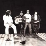 Luciano Capponi durante la regia della trasmissione televisiva Passaparola , Rai Tre 1982