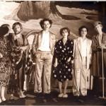 Alcuni interpreti della trasmissione Polvere di Pitone di Luciano Capponi, RaiTre 1983