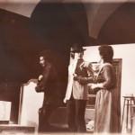 Immagini di Luciano Capponi sulla scena, 1968-1972
