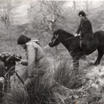 Riprese del film Se una notte a Monte Cocuzzo di Luciano Capponi con Pino Ammendola e Totonno Chiappetta, RaiTre 1982