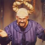 Antonio Arcari è Penelope nello spettacolo di Luciano Capponi Ulì e Pené