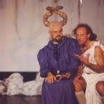 Antonio Arcari e Daniele Aldrovandi in una scena dello spettacolo Ulì e Pené